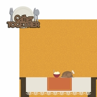 Turkey Time: Gather Together 2 Piece Laser Die Cut Kit
