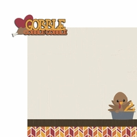Turkey Time: Gobble 2 Piece Laser Die Cut Kit