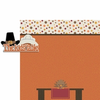 Turkey Time: Kid's Table 2 Piece Laser Die Cut Kit