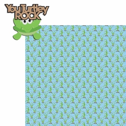 Turtle Time: You Turtley Rock 2 Piece Laser Die Cut Kit