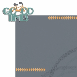 2SYT Two Wheels: Good Times 2 Piece Laser Die Cut Kit