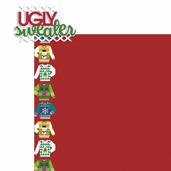 Ugly Sweater 2 Piece Laser Die Cut Kit