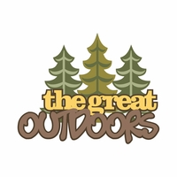 Under The Stars: The Great Outdoors Laser Die Cut