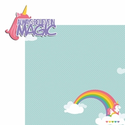 Unicorn: Always believe 2 Piece Laser Die Cut Kit