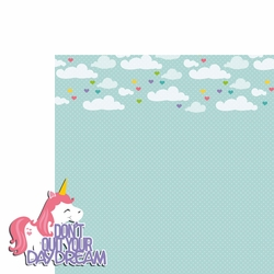 Unicorn: Don't quit 2 Piece Laser Die Cut Kit