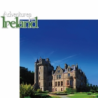 United Kingdom: Adventures In Ireland 2 Piece Laser Die Cut Kit