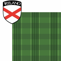 United Kingdom: Irish Plaid 2 Piece Laser Die Cut Kit