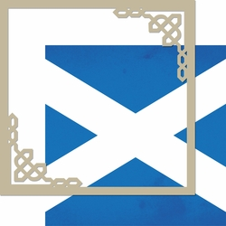 United Kingdom: Scotland 12 x 12 Overlay Quick Page Laser Die Cut Kit