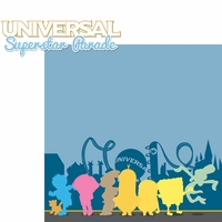 Universal: Character Parade 2 Piece Laser Die Cut Kit