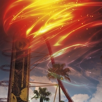 Universal: Hollywood Rocket 12 x 12 Paper