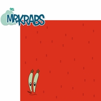 Universal: Mr. Krabs 2 Piece Laser Die Cut Kit
