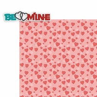 Valentine's Day: Be Mine 2 Piece Laser Die Cut Kit