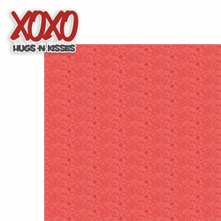 1SYT Valentine's Day: XOXO 2 Piece Laser Die Cut Kit