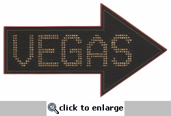 Vegas Arrow Laser Die Cut