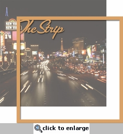 Vegas Baby: The Strip 12 x 12 Overlay Quick Page Laser Die Cut