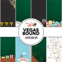 Vegas Bound Assorted 12 x 12 Paper Pack