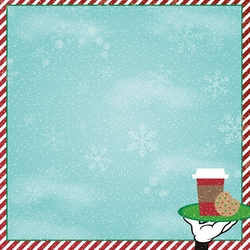 Very Merry: Cocoa & Cookies  12 x 12 Paper