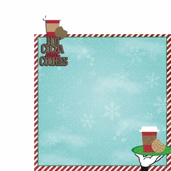 Very Merry: Cocoa & Cookies  2 Piece Laser Die Cut Kit