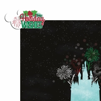 Very Merry: Holiday Wishes 2 Piece Laser Die Cut Kit