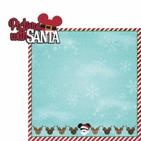 Very Merry: Pic with Santa 2 Piece Laser Die Cut Kit