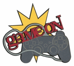 Video Games: Game On Laser Die Cut