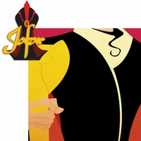 Villains: Jafar 2 Piece Laser Die Cut Kit