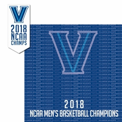 2SYT Villanova Wildcats 2018 Champs 2 Piece Laser Die Cut Kit
