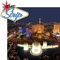 Viva Las Vegas: The Strip 2 Piece Laser Die Cut Kit