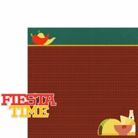 Viva Mexico: Fiesta Time 2 Piece Laser Die Cut Kit