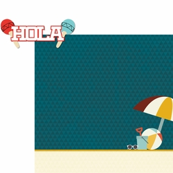 Viva Mexico: Hola 2 Piece Laser Die Cut Kit