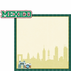 Viva Mexico: Sightseeing 2 Piece Laser Die Cut Kit