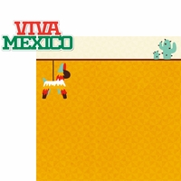 Viva Mexico: Viva Mexico 2 Piece Laser Die Cut Kit
