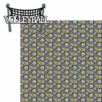 Volleyball: Volleyball 2 Piece Laser Die Cut Kit