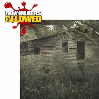 Walking Dead: No Walkers Allowed 2 Piece Laser Die Cut Kit