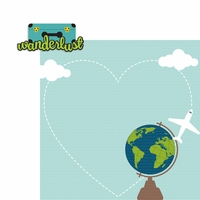 Wanderlust 2 Piece Laser Die Cut Kit