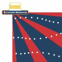 2SYT Washington D.C: Lincoln Memorial 2 Piece Laser Die Cut Kit