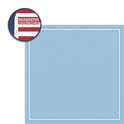Washington D.C: Washington Monument 2 Piece Laser Die Cut Kit