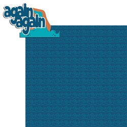2SYT Water Play: Again Again 2 Piece Laser Die Cut Kit