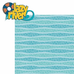 2SYT Water Play: Lazy River 2 Piece Laser Die Cut Kit