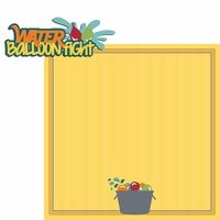 Water Play: Water balloon 2 Piece Laser Die Cut Kit
