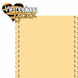 We Beelong  2 Piece Laser Die Cut Kit