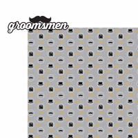 Wedding: Groomsmen 2 Piece Laser Die Cut Kit