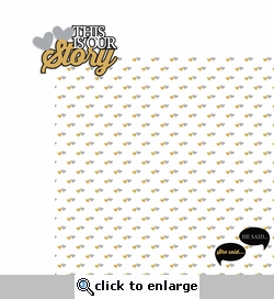 Wedding: Our Story 2 Piece Laser Die Cut Kit