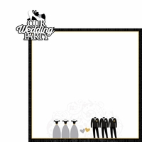 Wedding: Wedding Party 2 Piece Laser Die Cut Kit