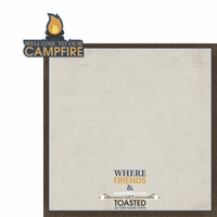 Welcome to our campfire 2 Piece Laser Die Cut Kit