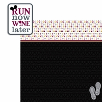 Wine and Dine: Run Now 2 Piece Laser Die Cut Kit