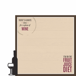 Wine & Friends: Fruit Juice Diet 2 Piece Laser Die Cut Kit