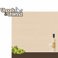 Wine & Friends: Uncork & Unwind 2 Piece laser Die Cut Kit