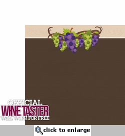 Wine & Friends: Wine Taster 2 Piece Laser Die Cut Kit