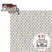 Wine Lover: Liquid Therapy 2 Piece Laser Die Cut Kit